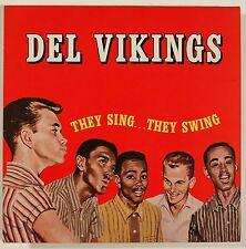 DEL VIKINGS They Sing, They Swing LP GERMANY IMPORT VINYL REISSUE DJX-LP-2063