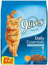 New listing Dry Cat Food Daily Essentials Omega 3 Fatty Acids Healthy Skin And Coat 9Lives