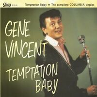 GENE VINCENT 25 CM 10 inch LP Temptation Baby -The Complete Columbia Singles NEW