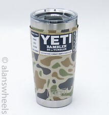 YETI Rambler 20 oz Stainless Steel Insulated Tumbler w/MagSlider Lid, Camo