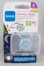 MAM Perfect Night Succhietto mesi 6+ ciuccio azzurro cane + box sterilizzazione