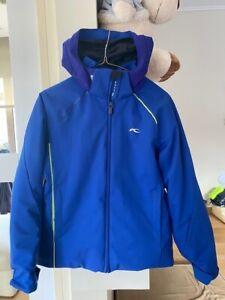 KJUS Formula ski jacket skijacke Blue Size 152 US12 Pristine condition RN104122