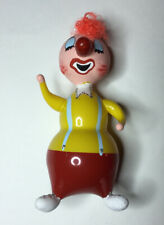 Vintage Handblown Glass Clown Christmas Ornament De Carlini Italy