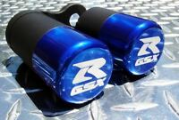 2006-10 Suzuki GSX-R 600 / 750 No-Cut 3D Frame Sliders GSXR K6 K7 K8 K9 L0 Blue