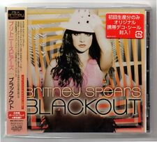 Britney Spears CD Blackout Japan only bonus track NEW Free shipping