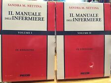 Manuale dell'Infermiere Nettina 2 Volumi