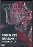 Goblin Slayer Uncensored Episodes 1 - 12 English Dubbed Complete Series on DVD