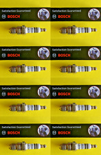 New SET OF 8 BOSCH Platinum+2 Spark Plugs - Made in Germany