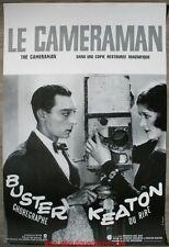 LE CAMERAMAN Affiche Cinéma / Movie Poster BUSTER KEATON