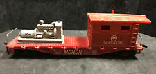 HO Monon Caboose With Engine Load Marx Lot GG36