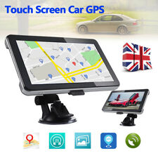 """8GB 7"""" Touch Screen Car GPS SAT NAV Navigation System FM Speedcam UK+EU maps"""
