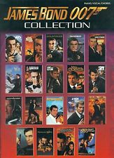 JAMES BOND 007 COLLECTION PIANO/VOCAL/CHORDS MUSIC BOOK SEAN CONNERY/MOORE-NEW