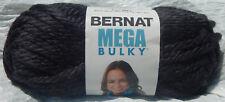 Bernat Mega Bulky Yarn in Dark Grey Heather #91042 - New & Smoke Free Home