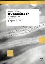 Burgmüller: Studies op.100 for Piano