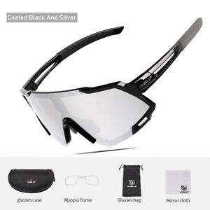 Outdoor Cycling Sunglasses HD Anti-Glare Sport Goggle Mirrored Glasses Women Men