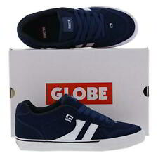 Globe Encore 2 Mens Blue White Suede Skate Shoes Sneakers Trainers Size 8-11