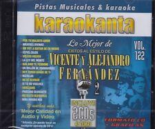 Vicente Fernandez y Alejandro Fernandez Vol 2 New Nuevo 2CDS  KARAOKE