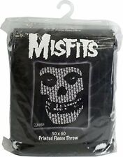 Misfits Skull Fleece BLANKETS Officially Licensed BLANKET, 50 X 60 Inches