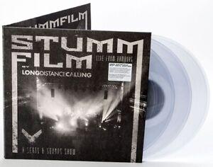 "Long Distance Calling ""STUMMFILM (Live From Hamburg)"" Gatefold CLEAR vinyl 3LP"