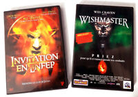 Wishmaster + Invitation en enfer - Wes CRAVEN - dvd Très bon état
