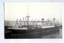 pf1158 - Blue Funnel Cargo Ship - Dardanus , built 1920 ex Glenapp - photograph