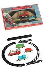 Set in miniatura tradizionale del Treno a Batteria 3 carri incl Easy Set Up 3+