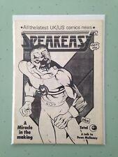 Speakeasy 52 Rare British Fanzine Miracleman Alan Moore