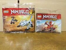 Lego Ninjago lot polybag 30535-30547 (neuf & scellé)