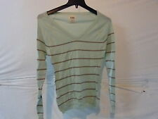 Volcom V.Co-Logical Sweater- Women's Small Light Green Retail $51.95