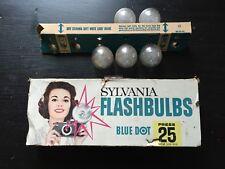 1950's Sylvania Camera Flashbulbs