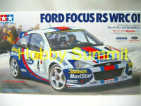 Tamiya  1/24  FORD FOCUS RS WRC 2001  Rally Car Model Kit   24241 Discontinued !