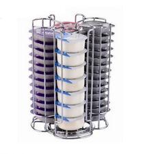 Rotating 52 pcs Coffee Pods Holder Rack Tower Stand Rack for Tassimo Revolving