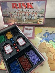 Risk The World Conquest Game by Parker Brothers Tonka 1992 VINTAGE Strategy game