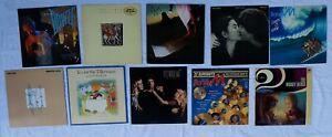 David Bowie u. andere 10 diverse Vinyl LP Sammlung