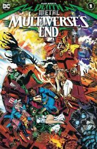 DARK NIGHTS DEATH METAL MULTIVERSE'S END 1 COVER A 1st Print DC COMICS 2020