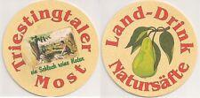 "Land-Drink Natursäfte - Bierdeckel ""Triestingtaler Most"""