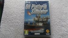 OIL PLATFORM SIMULATOR PC CD-ROM FAST POST ( brand new & sealed )