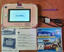 Vtech Storio 3S in rosa , Lern-und Spiel Tablet + Cars 2 Spiel