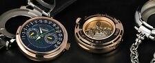 "Parmigiani 18K RG Transforma ""Convertible"" CBF Annual Calendar Retrograde Moon"