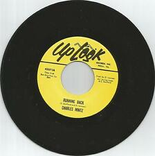 CHARLES MINTZ -Running back (Previously unissued)NORTHERN SOUL 7''45rpm LISTEN!!