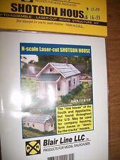 Blair Line N Scale Laser Cut Shotgun House Kit  #079 Bob The Train Guy