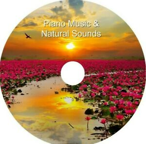 Piano Music & Natural Sounds on 1 CD Relaxation Stress & Anxiety Relief Relaxing