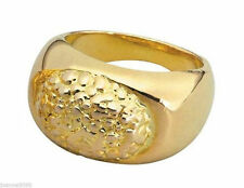 #70s 80s Super Star Gold Ring Sovereign Style Accessory
