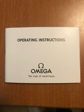 Vintage OMEGA Seamaster Watch Operating Instruction Manual Ref. 03090170m