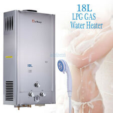 18L Propane Gas Lpg 4 Gal Tankless Instant Hot Water Heater Stainless Material