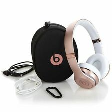 Beats by Dr. Dre Solo3 Wireless Bluetooth Headband Headphones Rose Gold