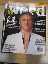 Word #30 '05 Paul Weller Tori Amos Brian Eno Pink Floyd
