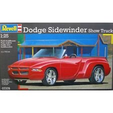 KIT REVELL 1:25 AUTO DA MONTARE DODGE SIDEWINDER SHOW LUNGH. 19 CM ART. 07378