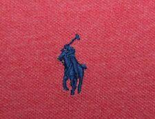 POLO RALPH LAUREN Men's 4XLT Tall Red w/ Blue Pony Short Sleeve Polo Shirt