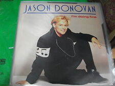 "Jason Donovan – I'm Doing Fine ' 12 "" MINT  1990"